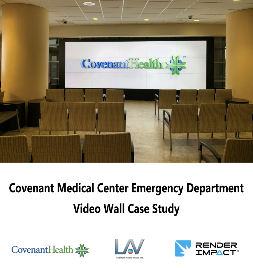 Medical Center Video Wall Content