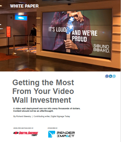 Getting the Most From Your Video Wall Investment